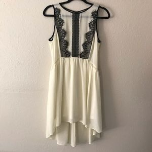 do & be size L black & cream dress